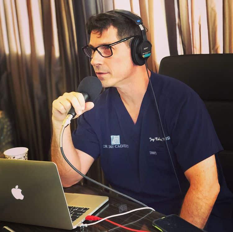 dr jay calvert podcasting